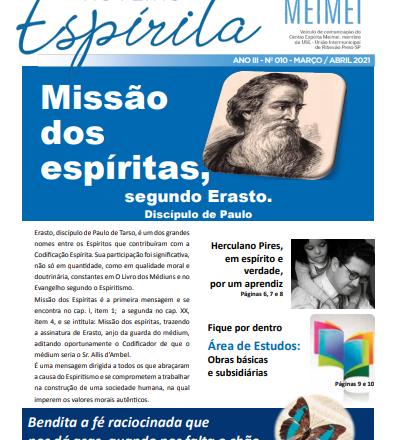 Jornal Roteiro Espírita MARÇO/ABRIL 2021