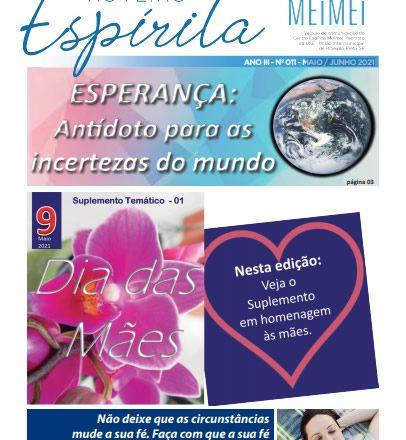 Jornal Roteiro Espírita MAIO/JUNHO 2021